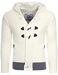 Young and Rich - Veste capuche cardigan blanc Rerock