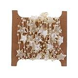 F Fityle 5m Artificiales Perlas Guirnalda Cadena Estrellas ,un Regalos para Novia, Amplia Gama de Trajes de Novia
