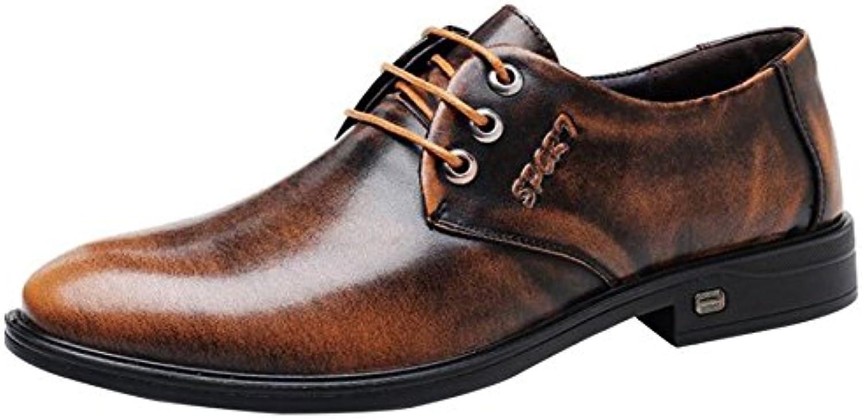 Herren Derby Schuhe Der Spitzenschuhe Business Casual Schuhe Jugend Mode Schuhe