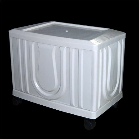 Ashi Polymers Single Battery Inverter Trolley (Colour: White)
