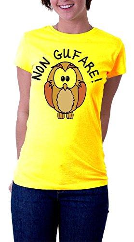 t-shirt Humor - Eule - Vogel Maskottchen - S M L XL XXL alle Größen verfügbar, Mann, Frau Shirt von (Maskottchen Eule)