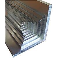 Aluwinkel 20 x 20 x 2 mm Winkelprofil gleichschenklig Alu Winkel Aluprofil Aluminiumprofil L Profil aus Aluminium (600 cm (3 Stck. á 200 cm))