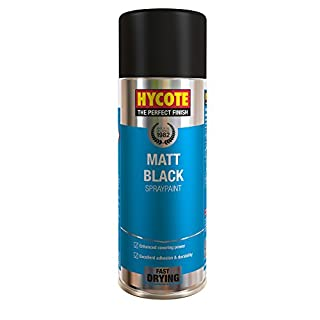 Hycote Matt Black , 400ml