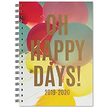 Tallon 3195 PURPLE 2018 2019 A5 Academic Week To View Diary Hardback Case Studen