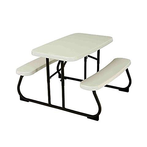 Lifetime 2.7 ft (0.83 m) Children's Folding Picnic Table -