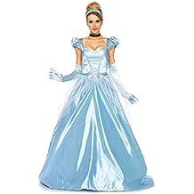 Leg Avenue - Costume classico per travestimento da Cenerentola, Donna,