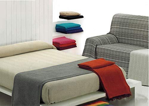 MercuryTextil Colcha Multiusos/Cubre sofás/Sobrecamas