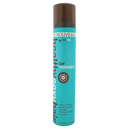 sexyhair Soy Touchable No Crunch Hairspray, 1er Pack (1 x 300 ml)