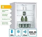PKM Hausgeräte Getränkekühlschrank GKS102, weiß