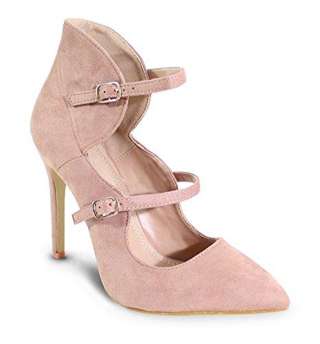 By Shoes Zapatos de Tacón Para Mujer