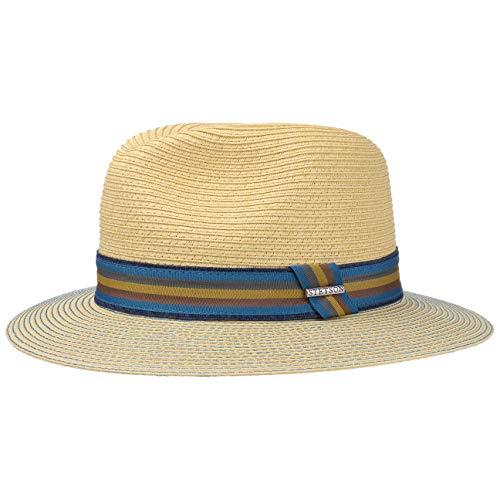Stetson Monticello Toyo Sonnenhut Herrenhut Strohhut (M/56-57 - Natur) - Toyo Hat