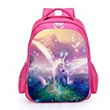 Einhorn Schulrucksäcke, Fantany Einhorn Regenbogen Kursteilnehmer Taschen für Mädchen, Einhorn Geschenke Reise Gepäck beiläufige Rucksäcke für Kursteilnehmer