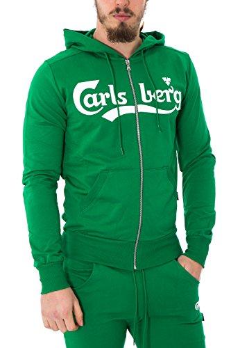 carlsberg-homme-regular-fit-capuche-sweatshirt-cbu2507-m-vert