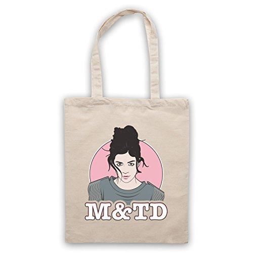 Inspiriert durch Marina & The Diamonds M&TD Inoffiziell Umhangetaschen Naturlich