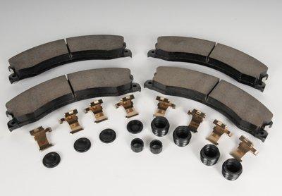 Acdelco 171-1023 GM Original Equipment kit de frein arrière avec Plaquettes de frein, clips, joints, bagues, et caches