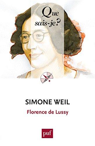 Simone Weil:  Que sais-je ?  n 4037