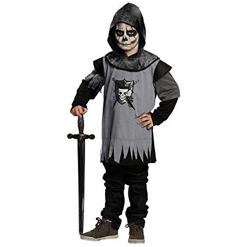 Totenkopf Ritter Gr. 128 Fasching Karneval Kostüm Halloween Party (Ritter Halloween)
