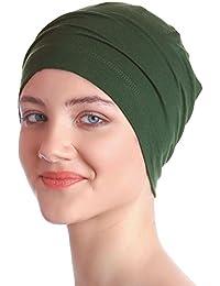 Algodón Unisex de apagado tapa para quimio, pérdida de pelo de | Función de apagado tapa para pantalones de deporte para mujer