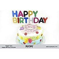 Topper Tarta Happy Birthday Multicolor