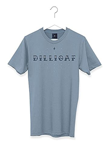 Dilligaf Graphic Tattoo Men's T Shirt (M)