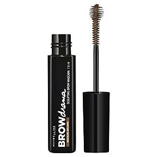 Maybelline New York Brow Drama Máscara de Cejas, Tono: Dark Brown – 7.6 ml