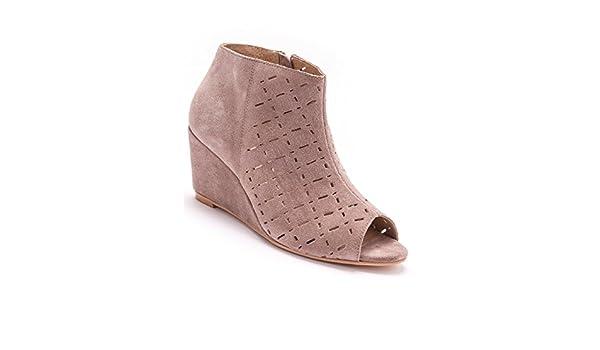 Balsamik Boots, ouvertes devant - femme Morpho V - Taille   41 - Couleur    Taupe  Amazon.fr  Chaussures et Sacs 081ec7370f47