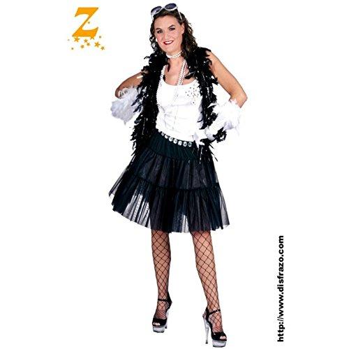 Imagen de funny fashion 508136d  disfraz de rockera para mujer talla adulto  alternativa