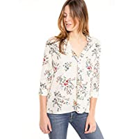 Deep in Love Blouse for Women, Size S, Multi Color