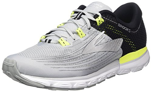 Brooks Neuro 3, Scarpe da Running Uomo, Multicolore (Grey/Black/Nightlife 099), 44 EU