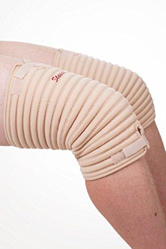 STAUDT Knie-Bandage XL (paarweise) - gegen Gelenkschmerzen, Arthritis oder Arthrose in den Knien - nächtliche Anwendung - gute Ergänzung zu Manschetten, Creme, Salbe