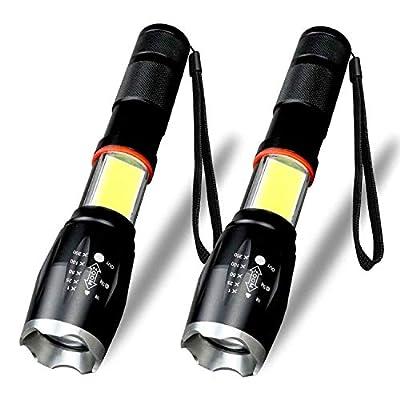Karrong LED Taschenlampe, 6 Modi Wasserdicht Superhelle 1600 Lumen COB Arbeit Taschenlampe von Karrong bei Outdoor Shop
