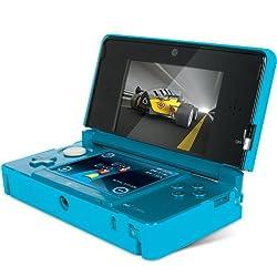 DreamGEAR Nintendo 3DS Power Case - Blue by DreamGEAR - Nintendo 3DS