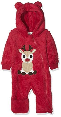 NAME IT Unisex Baby NBNRUDO LS Suit W/Turn UP FEET Schneeanzug, Rosa (Jester Red Dawn Pink), 68 (The Anzug Rudolph)