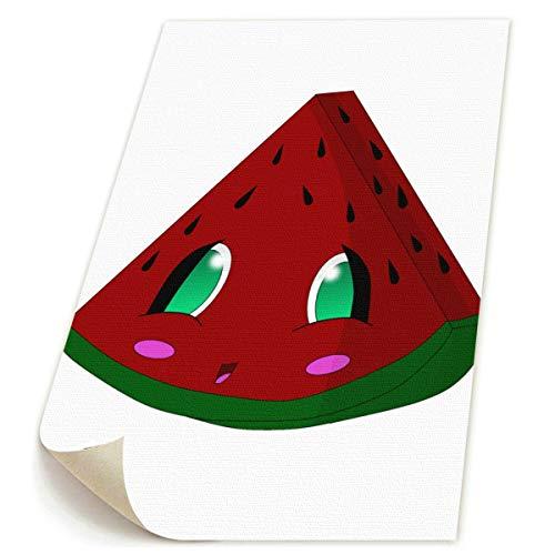 SDGYGSNi Wassermelonen-Druck auf Leinwand, abstrakt, Pop-Art, lustig, buntes -