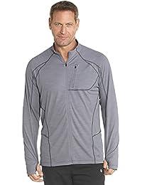 4509998497f81 Coolibar – Camiseta de Deporte para Hombre UPF50 + Protección UV Chaqueta  de Entrenamiento