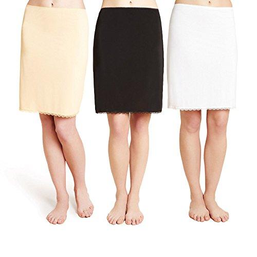 fa-m-ou-s-store-cool-comfort-waist-half-slip-4-lengths-3-colours-lace-trim-18white24-inches61cm0050