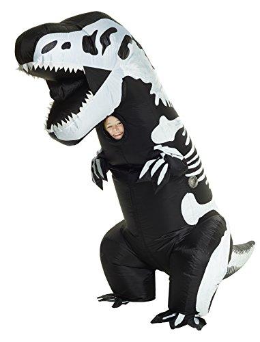 Morphsuits, costume gonfiabile da scheletro gigante, per bambini. Taglia unica