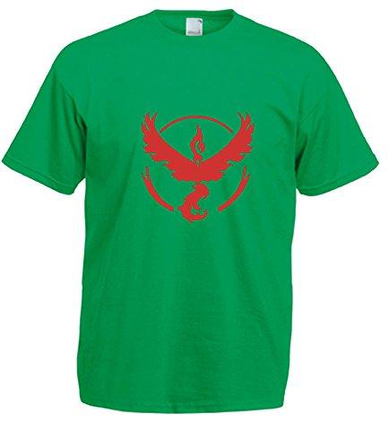 Unknown Herren T-Shirt Grün - Irish Green