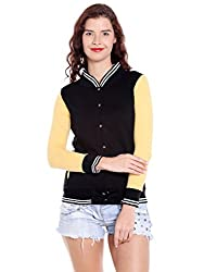 Campus Sutra Womens Plain Sweatshirt (AZW17_HVAR_W_PLN_BLYE_AZ_M)