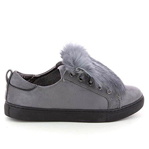 Go Tendance ,  Sneaker Donna Grigio