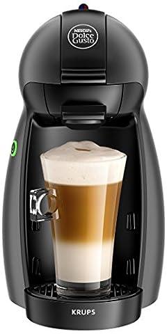 Krups YY2283FD Machine à Café à Capsules Nescafé Dolce Gusto Piccolo Anthracite Manuelle Qualité Professionnelle Pression 15 Bars Large Choix de Boissons Chaudes et Froides