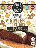 Free and Easy Gluten Ginger Cake Mix, 350 g