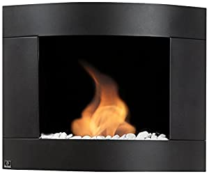 Bio Blaze BB D2B Ethanol Fireplace Diamond II, Wall Mount, Black