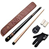 147 Combo American Pool Cue Metal Joint 12Mm,Black Cue Cover,Glovr,Chalk Holder N 2 Tips