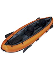 Bestway Hydro-Force Ventura - Kayak doble, 330 x 94 cm, incluye 2 remos desmontables