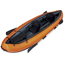 Bestway Hydro-Force Ventura - Kayak doble, 330 x 94 cm, incluye 2 remos desmontables