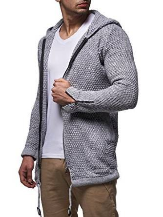 Uomini maglione con cappuccio Astana ID1397 (vari colori) Hellgrau