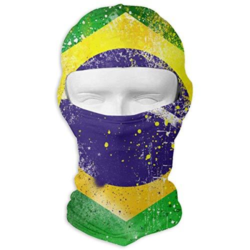 Xukmefat Brazil Vollmaske Balaclava windbeständige Gesichtsmaske
