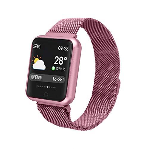 spy Wasserdicht IP68 Fitness Tracker Fitness Uhr für Damen Herren Kinder Sportuhr mit Schrittzähler Pulsuhr Kalorienzähler 1.3-Zoll Smart Watch Sportuhren für iOS Android Handy ()