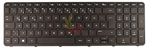 NExpert Orig. QWERTZ Tastatur für HP Compaq 15-h005ed 15-h006nl 15-h007nl 15-h008nl DE Neu (Ersatzteile Compaq)